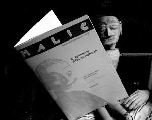 Marioneta lectora