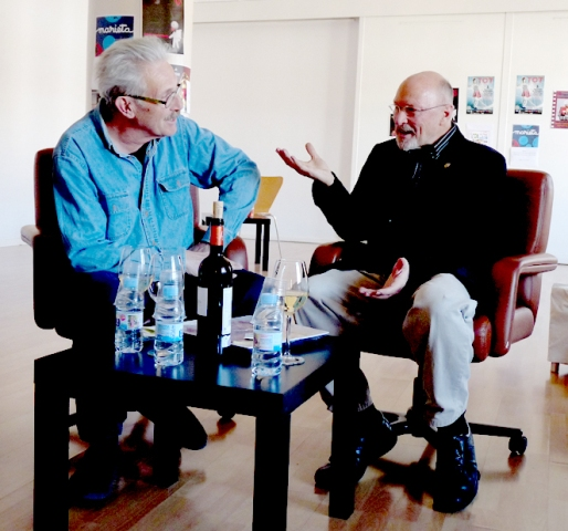 Jacques Trudeau i Joan Baixas