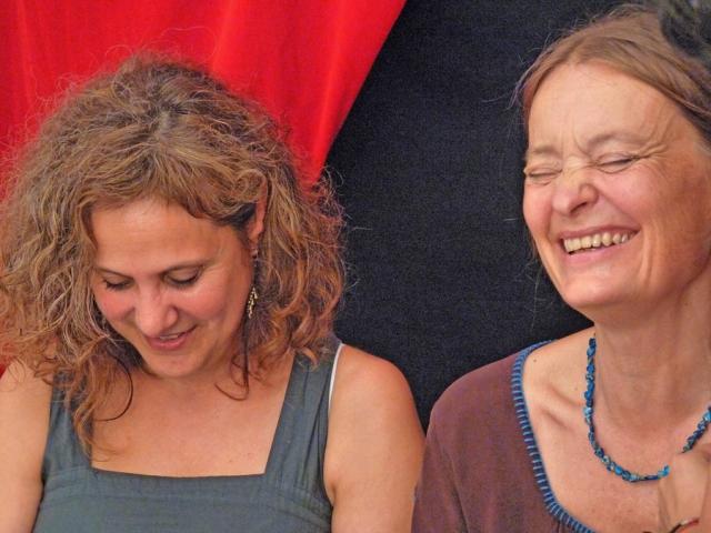 Mercè Framis i Kerstin Von Porat