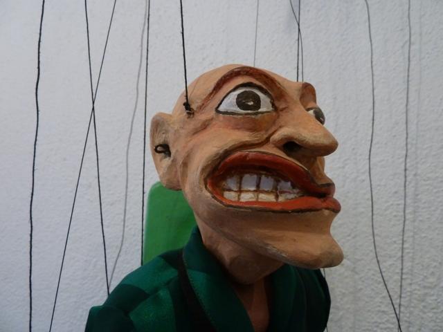 Marioneta de Jordi Bertran