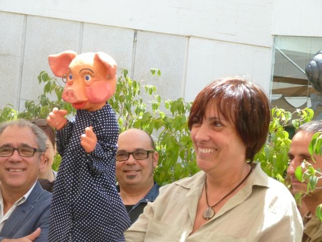 Montserrat Cervera - Comiat Fundació Miró