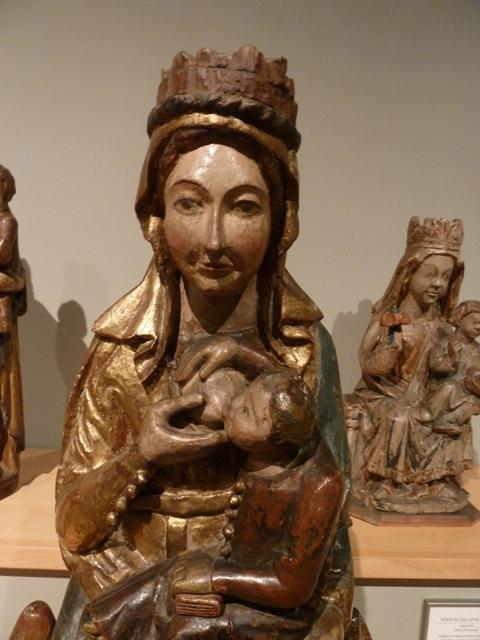 Verge del Pit. Museu Marés.
