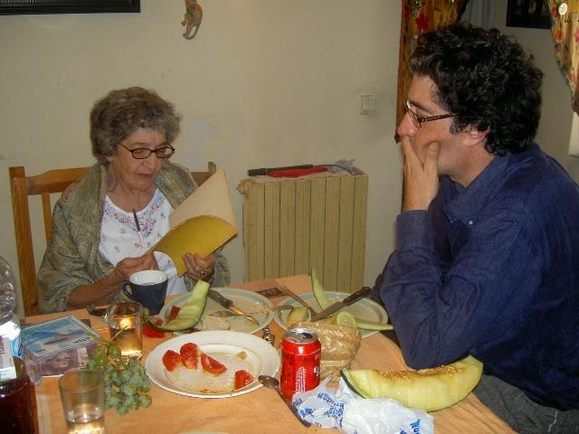 Mireya Cueto y Adolfo Ayuso