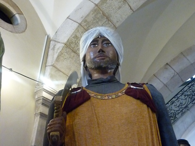 Palau de la Virreina, Gegants de Cardona.