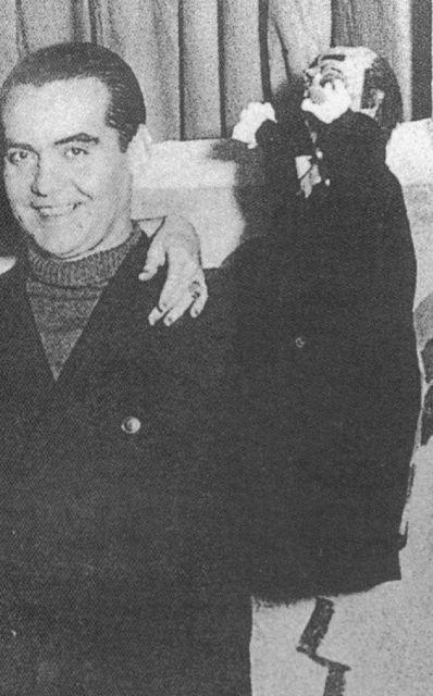 Federico García Lorca y Don Cristóbal