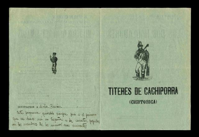 Títeres de Cachiporra