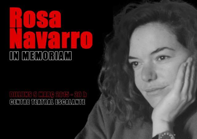 Homenatge Rosa Navarro