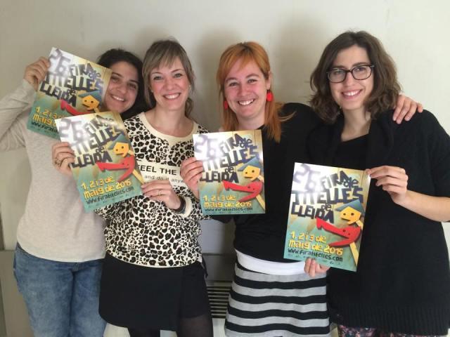 Equip femení Fira de Titelles de Lleida