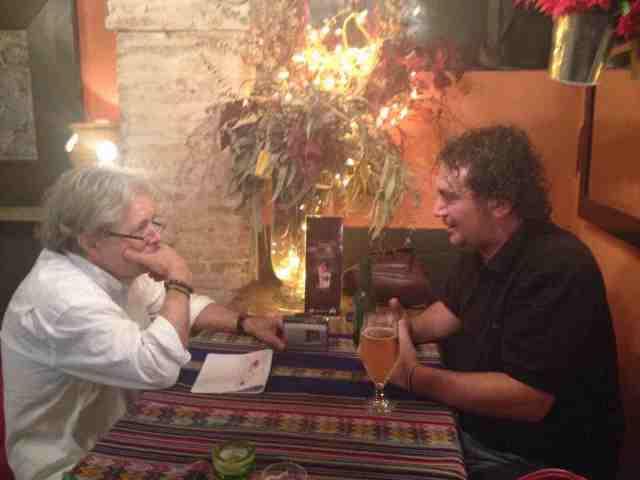 Damià Barbany i José Diego Ramírez