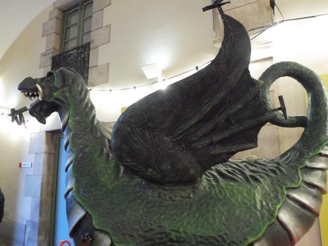 Els Gegants de Mataró al Palau de la Virreina