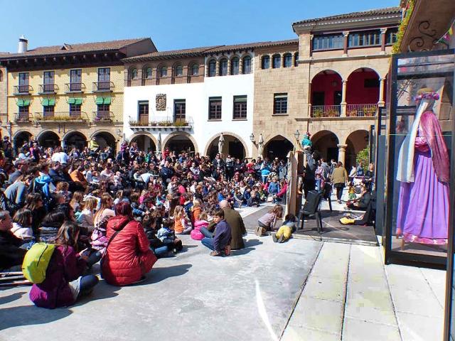 Poble Espanyol, Néstor Navarro, Foto Jesús Atienza