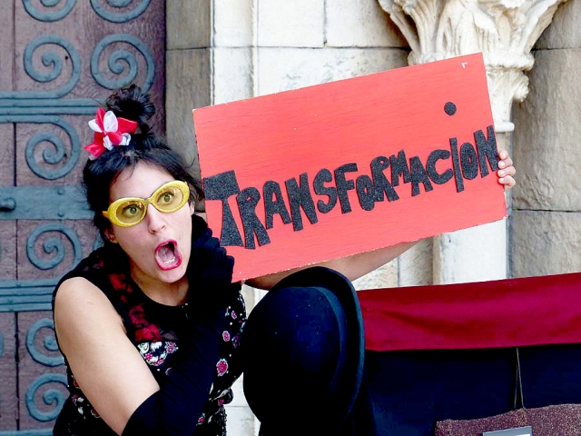 Transformación, Poble Espanyol, Foto de Jesús Atienza