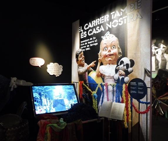 Exposició Comediants al Palau Robert
