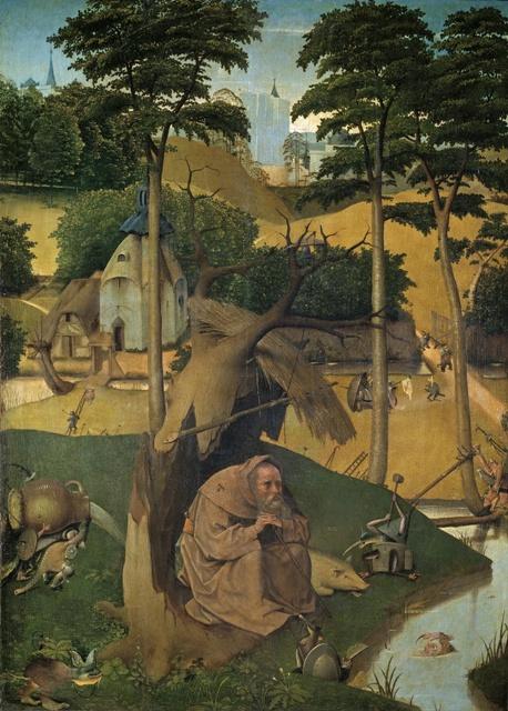Las tentaciones de san Antonio Abad, El Bosco