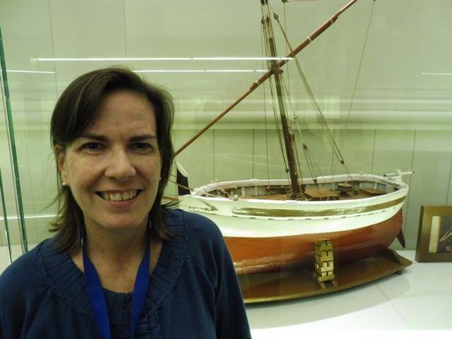 Vaixells de Joguina, Museu Marítim de Barcelona, Mireia Mayolas