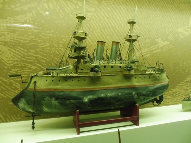 Vaixells de Joguina, Museu Marítim de Barcelona