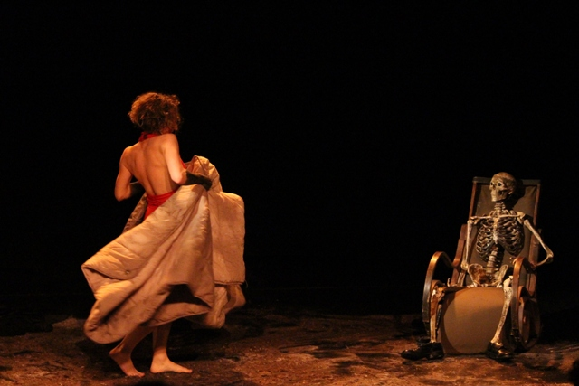 Desuète, amb Aurélie Galibourg. Foto de Maria Khan.