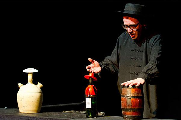 Jaime Santos en 'Gaudeamus', La Chana Teatro