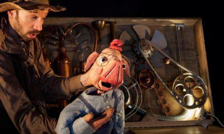 """""""El porc ferotge"""", amb Sergi Pons i Nelo Sebastián, de Produccions Essencials, al Teatre del Raval"""