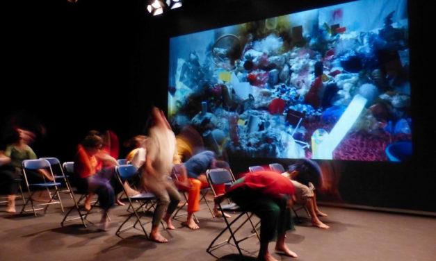 Simposi Figura i Cos 2018 – cinc pràctiques d'estudiants de l'Institut del Teatre dirigits per: Joan Cusó, Guillem Jiménez, Sílvia Batet, Barbara Cappi i Constanza Brncic
