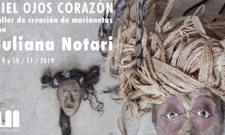Taller de creació cos/titelles amb Juliana Notari, a l'Espai Matèric, a l'Hospitalet del Llobregat