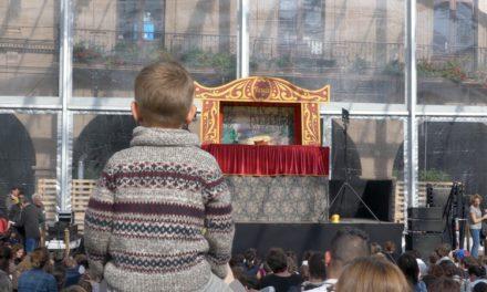A prop el Festival de Titelles de Barcelona al Poble Espanyol