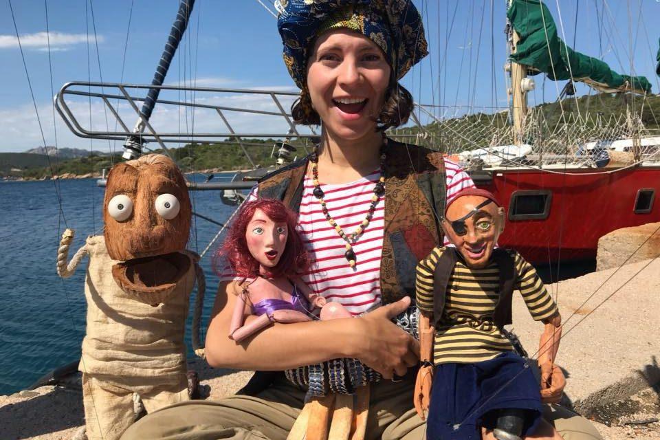 'Pirateria d'anar per casa', amb marionetes i l'Argos Maltès