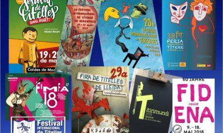 Arriben els Festivals de maig de 2018: Lleida, Lisboa, Segovia, Sevilla, Gavà, Palma de Mallorca, Redondela, Caldes de Montbui, Cádiz, Santillana del Mar, Pola de Siero…, i Bochum a Alemanya