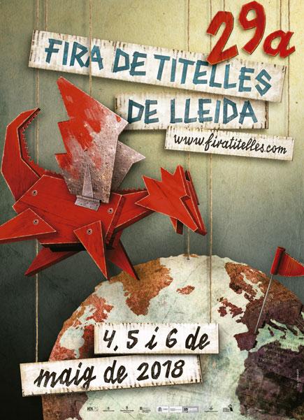 A punt la Fira de Titelles de Lleida