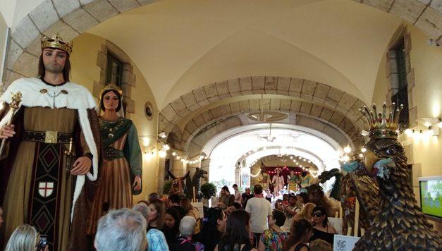 A punt la Mercè 2018 – El Seguici Festiu de Barcelona a la Virreina – Exposicions a la Casa dels Entremesos