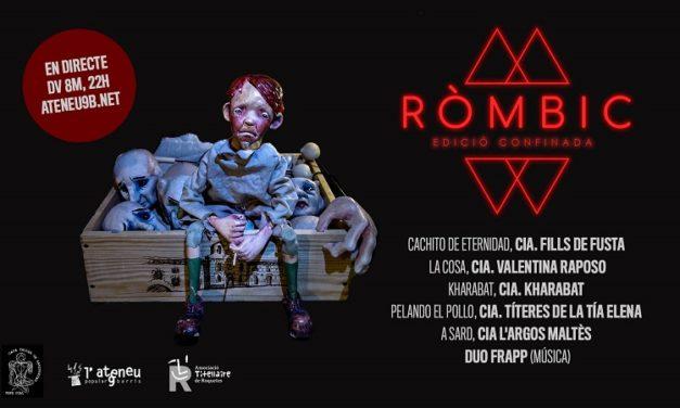 El Festival Ròmbic es presenta en Streaming