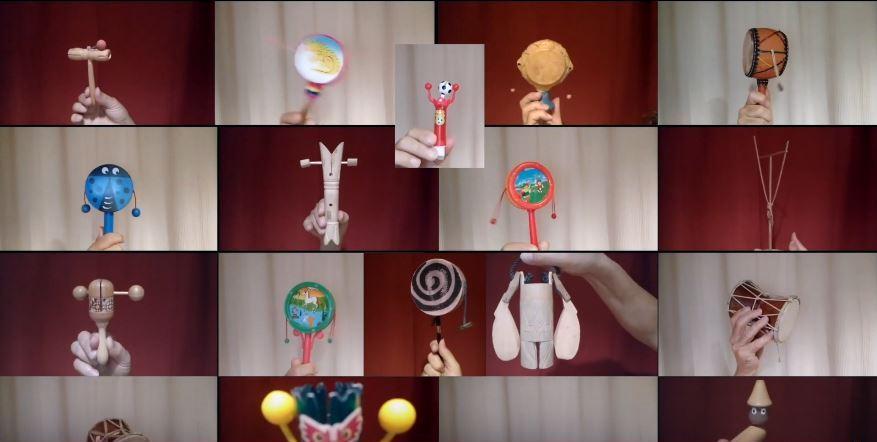 Pepino Pascual i els seus vídeos confitats de música i objectes