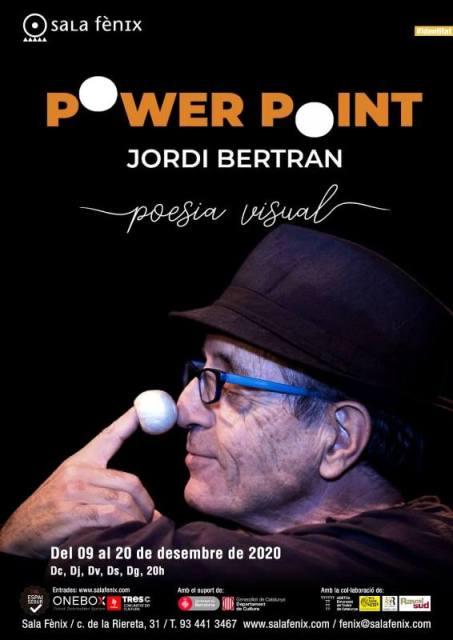 'Power Point', de Jordi Bertran, a la Sala Fènix