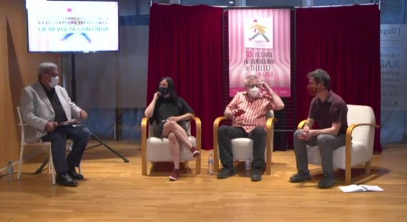 II – Festival Internacional de Titelles de Gavà 2021: presentació de La Revolta dels Titelles, i debat sobre els últims trenta anys, la Revolta continua